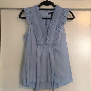 Blue Sleeveless Top / Blouse